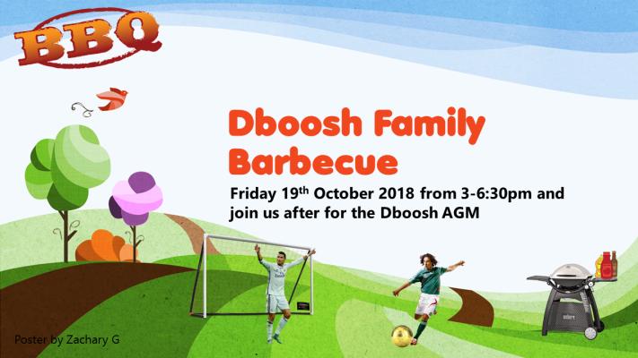 Dboosh Family Barbecue October